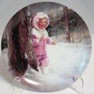 Snowy Adventure Pemberton & Oakes Donald Zolan Plate