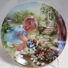 Stop and Smell the Roses Collector Plate Rusty Money