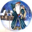 Old World St Nicholas Santa Christmas Plate