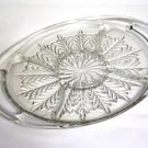 Jeannette Feather Handled 5 Part Relish Tray