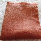 Wool Blanket Dusty Rose Vintage 1950 Era