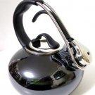 Chantal Enamel on Steel Onyx Tea Kettle Whistle
