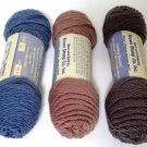 Brown Sheep Wool Mohair Worsted Three 4 oz Skeins