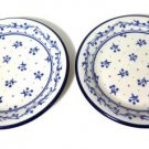 Sango Provence Bouquet Blue 260 Bread Butter Plates 2