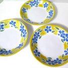 Dansk San Martino Pasta Soup Bowls Set of 3