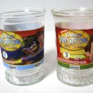 Jimmy Neutron Boy Genius Welch's Jelly Juice Glasses Set of 2
