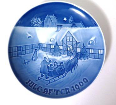Bing & Grondahl Arrival of Christmas Guests 1969 Plate