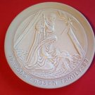 God's Chosen Family Frankoma Collector Plate 1987 Joniece Frank