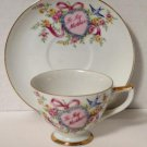 Lefton To My Mother Cup and Saucer Japan