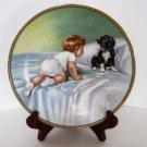 Bessie Pease Gutmann Who's Sleepy Collector Plate