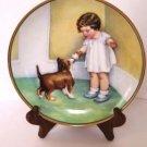 Bessie Pease Gutmann The Reward Collector Plate