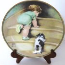 Bessie Pease Gutmann On the Up and Up Collector Plate