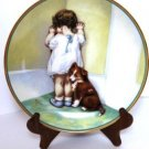 Bessie Pease Gutmann In Disgrace Collector Plate
