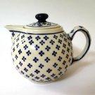 Boleslawiec Poland Hand Made 4-Cup Teapot
