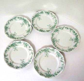 sc 1 st  kornkountrytreasures - eCRATER & Alfred Meakin Coniston Green Bread and Butter Plates Set of 5