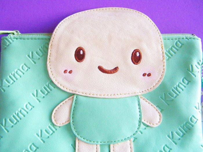 Kit-che Kiss Kuma Kuma Turtle Pencil Case/Pouch With Charm