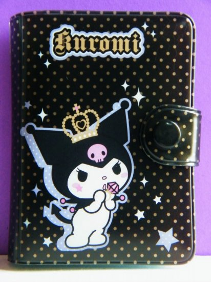 Kuromi Sanrio 20 Pockets Card Holder For ID,Credit,Namecards