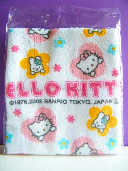 Hello Kitty Sanrio Face Towel,Made In Japan