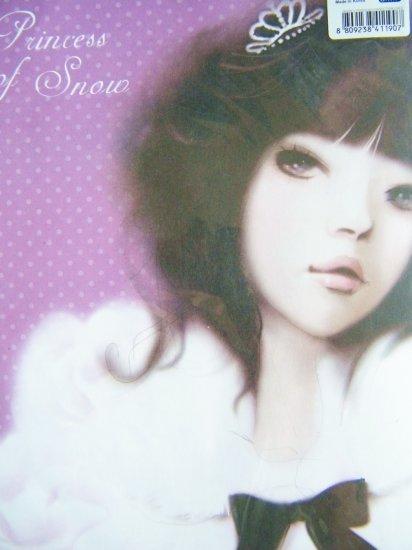Korean Pinkfoot Jennie's Portrait Princess Snow Letter Set