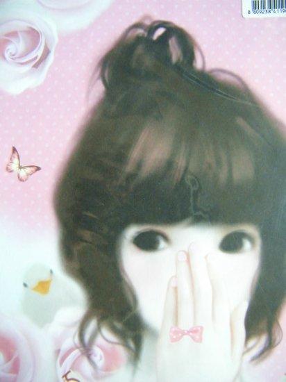 Korean Pinkfoot Jennie's Portrait Pretty Girl Letter Set (B)