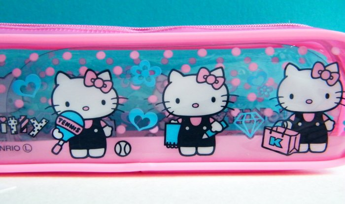 Hello Kitty Sanrio Slim Pencil Case