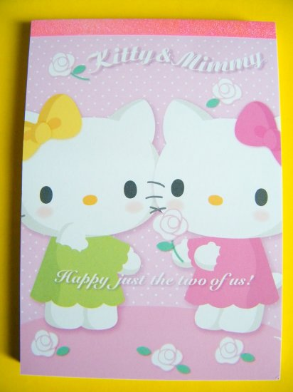 Hello Kitty Friendship Memo Pad, Made In Japan