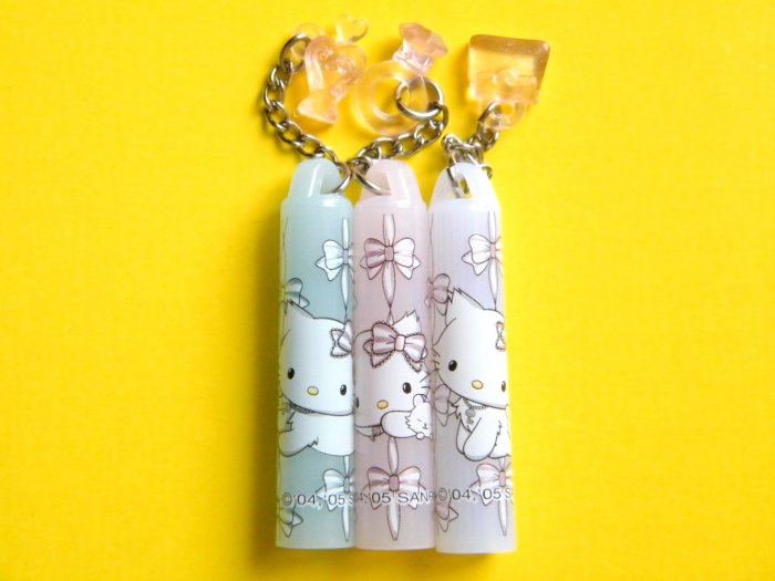 Charmy Kitty Sanrio Pencil Caps With Dangling Charms (3 pcs)