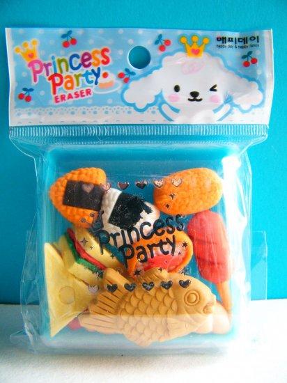 Korean Princess Party Eraser Set A