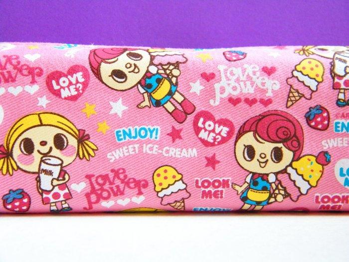 Korean Artbox Sweet Ice Cream Love Power Pencil Case