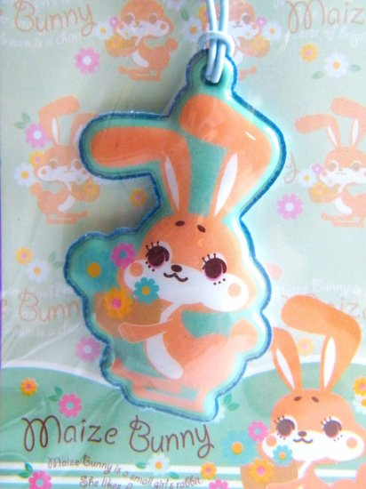 Kawaii Maize Bunny Cell Phone Charm And Screen Cleaner