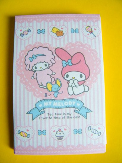 8 My Melody And Friends Sanrio Mini Envelopes and 8 Sticker Seals