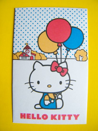 8 Hello Kitty Sanrio Mini Envelopes And Sticker Seals