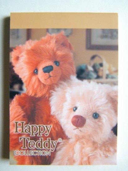 Teddy Bear Mini Memo Pad,Made In Korea (A)