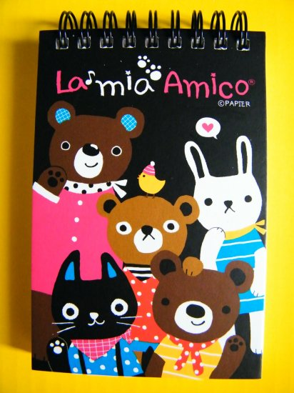 La Mia Amico Friends Memo Pad,Made In Korea