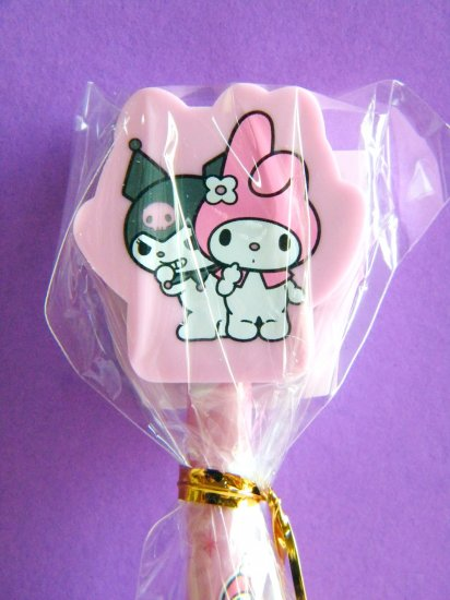 My Melody And Kuromi Sanrio Pencil With Eraser Mascot
