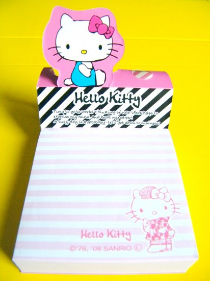 Hello Kitty Sanrio Stand Up Memo Pad (200 sheets)