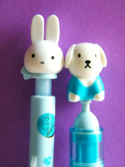 Fruity Miffy Blue Ballpoint Pens With Blue Ink (Set Of 2)