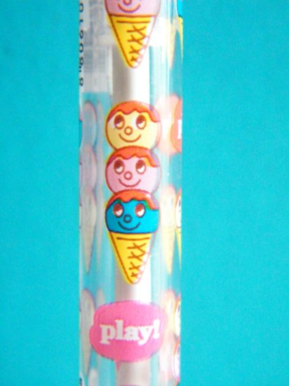 Korean Ice Cream Play 0.38mm Ballpoint Pen (Blue Ink)