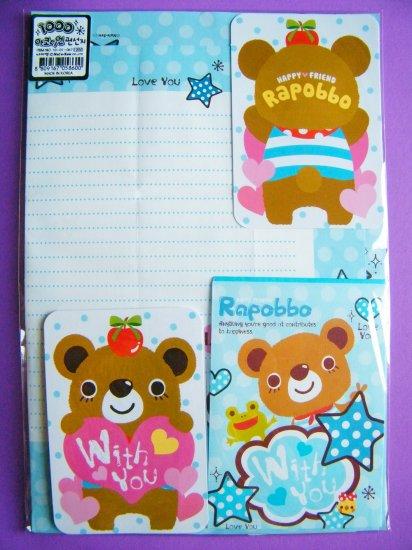 Korean Happy Friend Rapobbo DIY Card Letter Set