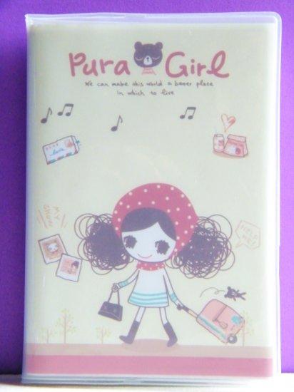 Kawaii Pura Girl Goes Travelling Memo Book