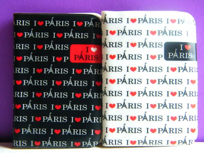Korean I Love Paris Card Case (12 Pockets) Choose 1 Out Of 2