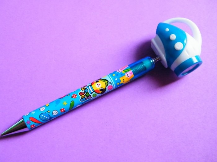 Kawaii Funny Dog Mechanical Pencil With Giant Torch Topper