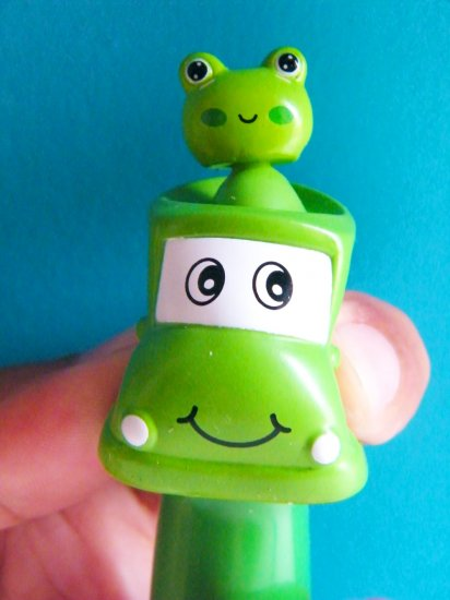 See My Jump Desktop Ballpoint Pen (Frog)