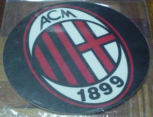 AC MILAN COMPUTER MOUSEPAD | SOCCER/FOOTBALL