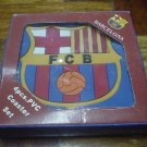 BARCELONA FC TABLE COASTERS | SOCCER/FOOTBALL