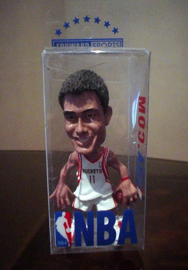 YAO MING MINIATURE TOY MODEL | NBA BASKETBALL