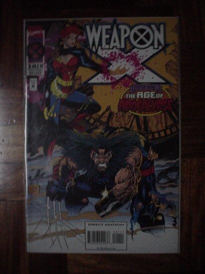 WEAPON X VOL.1 NO. 1 (MARVEL) | COMICS