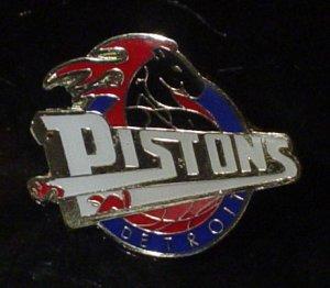 NBA Detroit Pistons Crest Pin