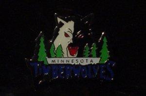 NBA Minnesota Timberwolves Crest Pin