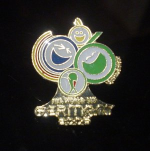 World Cup Germany 2006 Crest Pin